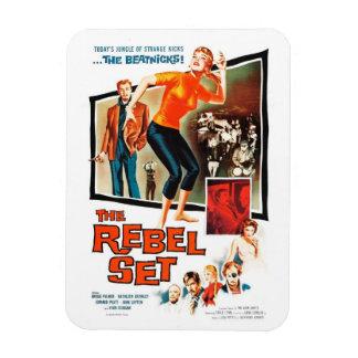 """""""The Rebel Set"""" Magnet"""