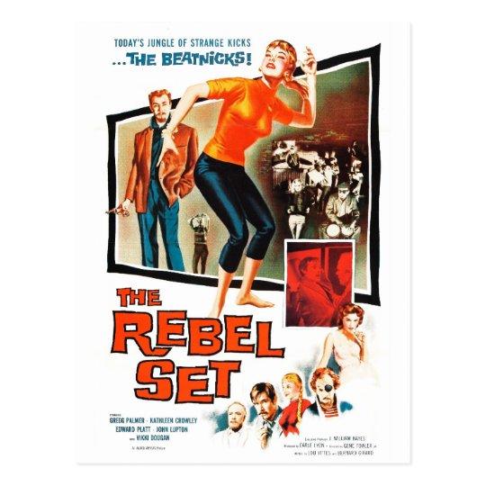 """The Rebel Set"" Postcard"