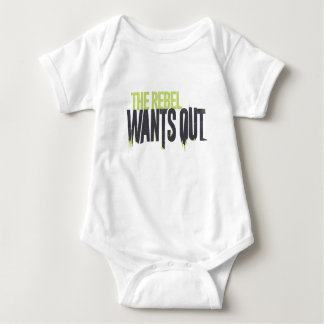 The Rebel wants Out Baby Bodysuit