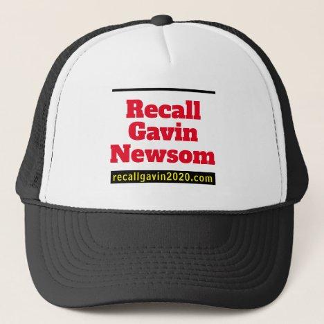 The Recall Newsom Trucker Hat