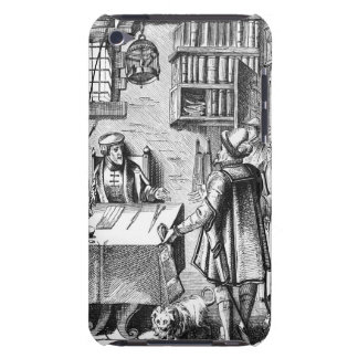 The Receiver of Taxes, after a woodcut in 'Praxis Barely There iPod Cover