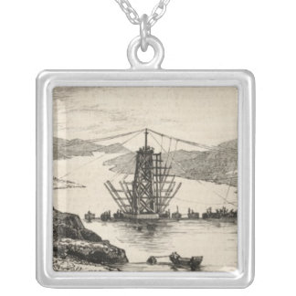 The recent tour of the Viceroy of India in Square Pendant Necklace