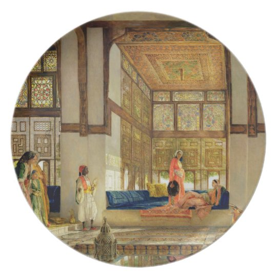 The Reception, 1873 (oil on panel) Plate