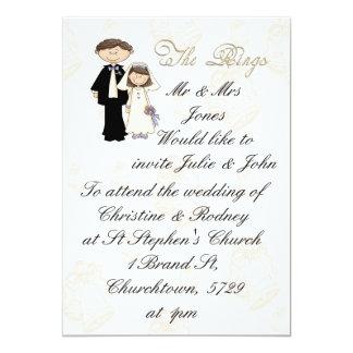 The Reception 5x7 Paper Invitation Card