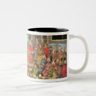 The Reception for the Ambassador Two-Tone Coffee Mug