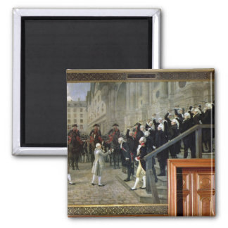 The Reception of Louis XVI at the Hotel de Ville b Magnet