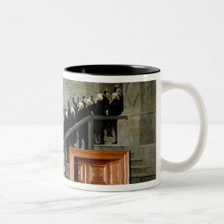 The Reception of Louis XVI at the Hotel de Ville b Two-Tone Coffee Mug