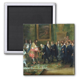 The Reception of the Ambassadors Fridge Magnet