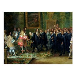 The Reception of the Ambassadors Postcard