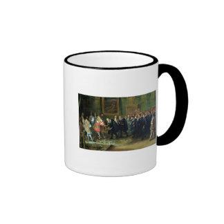 The Reception of the Ambassadors Ringer Mug