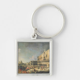 The Reception of the French Ambassador in Venice, Keychain