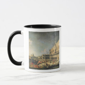 The Reception of the French Ambassador in Venice, Mug
