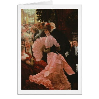 The Reception or, L'Ambitieuse (Political Woman) c Card
