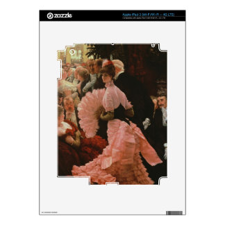 The Reception or, L'Ambitieuse (Political Woman) c Decal For iPad 3