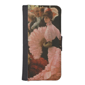 The Reception or, L'Ambitieuse (Political Woman) c iPhone SE/5/5s Wallet
