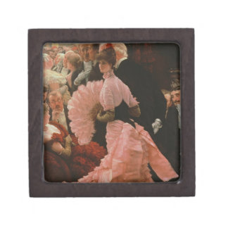 The Reception or, L'Ambitieuse (Political Woman) c Keepsake Box