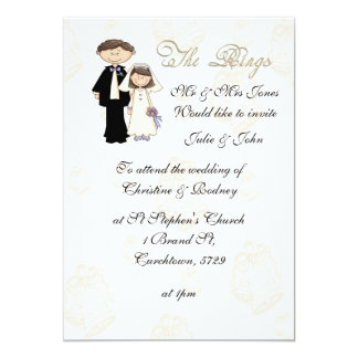 The Reception Wedding Invitation