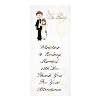 The Reception wedding Rack Card
