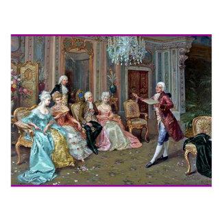 The Recital Postcard