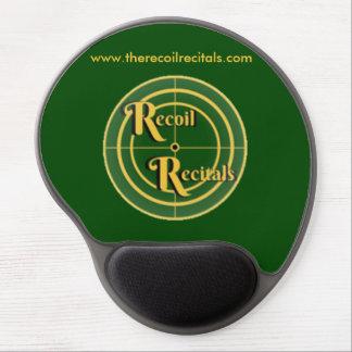 The Recoil Recitals Gel Mouse Pad