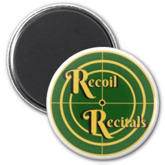 """The Recoil Recitals Official Logo Magnet 2.25"""""""