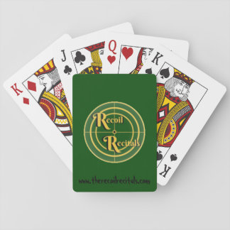 The Recoil Recitals Official Logo Playing Cards