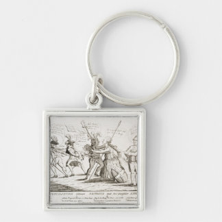 The Reconciliation Between Britannia America Keychain