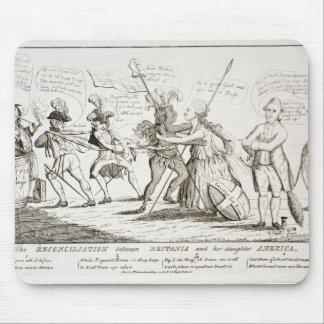 The Reconciliation Between Britannia America Mouse Pad