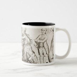 The Reconciliation Between Britannia America Two-Tone Coffee Mug