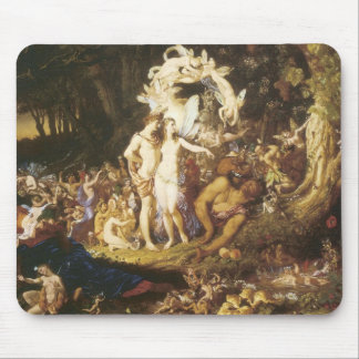 The Reconciliation Of Oberon And Titania,1847 Mousepads