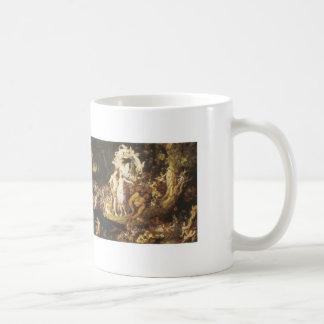 The Reconciliation Of Oberon And Titania,1847 Classic White Coffee Mug