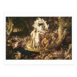 The Reconciliation Of Oberon And Titania,1847 Postcard