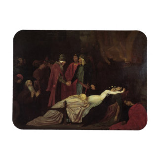 The Reconciliation of the Montagues and Capulets Rectangular Photo Magnet