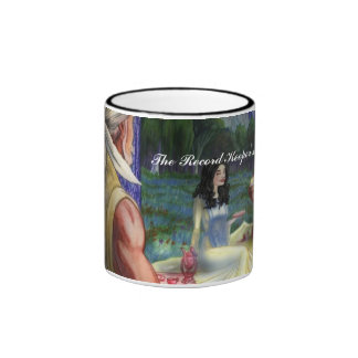 The Record Keeper's Wife Ringer Mug