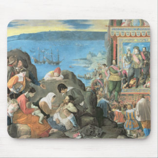 The Recovery of the Bay of San Salvador Mouse Pad
