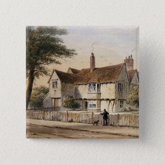 The Rectorial House, Newington Butts, 1852 Button