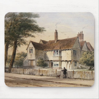 The Rectorial House, Newington Butts, 1852 Mouse Pad