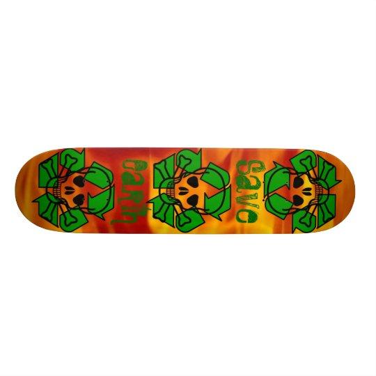 The Recyclinator Skateboard Deck
