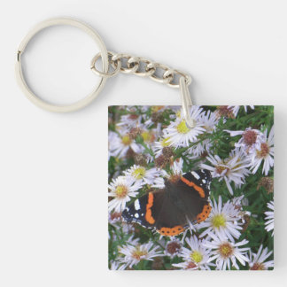 The Red Admiral Keychain