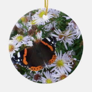 The Red Admiral Christmas Tree Ornament