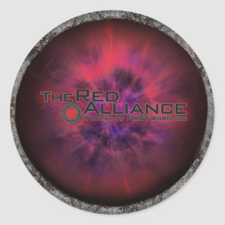 The Red Alliance Merch Classic Round Sticker