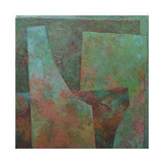 The Red and The Green Canvas Print