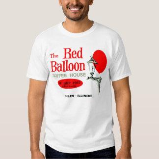 The Red Balloon Coffee House, Niles, Illinois Tshirts