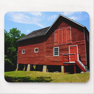 The Red Barn at Kirby's Mill Mouse Pad