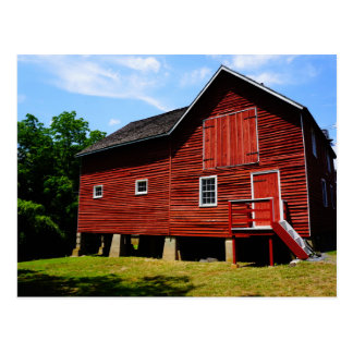 The Red Barn at Kirby's Mill Postcard