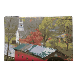 The Red Barn House Bridge Travel Accessory Bags