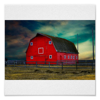 The Red Barn Posters