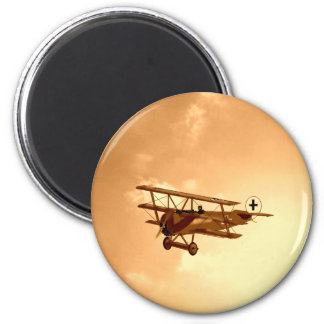 The Red Baron Magnet