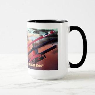 the red baron mug