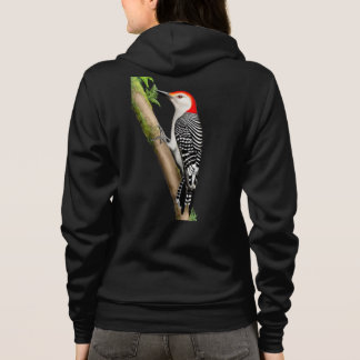 The Red Bellied Woodpecker Raglan Fleece Jacket